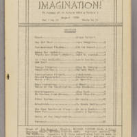 Imagination, v. 1, issue 11, whole no. 11, August 1938