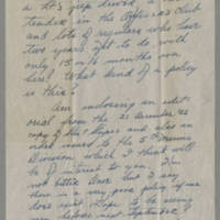1945-12-22 Pfc. Richard A. Knupp to Dave Elder Page 2