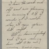 1942-12-31 Joanie to Laura Frances Davis Page 1