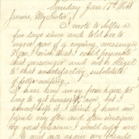 Mann family papers, January 1864-March 1866