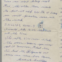 1942-02-01 Lloyd Davis to Laura Davis Page 3