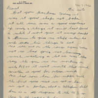 1942-11-06 Lloyd Davis to Laura Davis Page 1