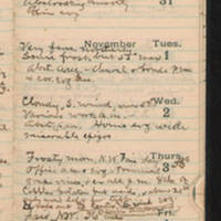 1921-10-30 -- 1921-11-05
