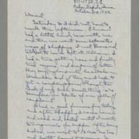 1942-10-24 Laura Davis to Lloyd Davis Page 1