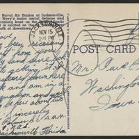 1944-11-14 Postcard - back