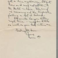 1941-12-09 Laura Davis to Lloyd Davis Page 2