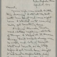 1944-04-18 Laura Davis to Lloyd Davis Page 1