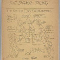 Damn Thing, v. 1, issue 5, May 1941
