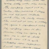 1942-09-14 Lloyd Davis to Laura Davis Page 1