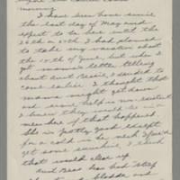 1943-06-09 Bessie Rector to Laura Frances Davis Page 1
