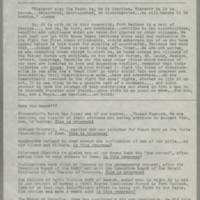NAACP newsletters, Fort Madison Branch, 1963-1966