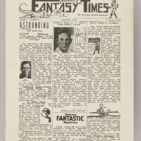 Taurasi's Fantasy Times, v. 1, issue 5, December 1941