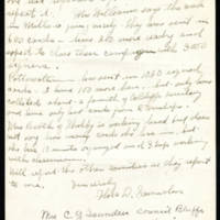 1917-10-16 Mrs. C.G. Saunders to Mrs. Whitley