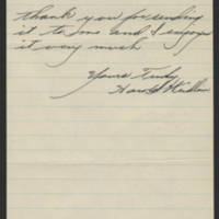 1945-01-16 Harold Weidlain to Dave Elder Page 2