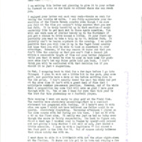 Nile Kinnick correspondence, August-December 1940