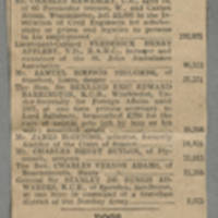 """Clipping: """"""""Desired Burial At Sea Without Dismal Trappings"""""""" Page 1"""