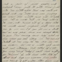 Undated 1917 letter Page 2