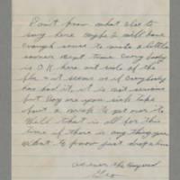 1944-01-09 George Davis to Lloyd Davis Page 3
