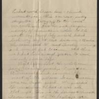 1918-04-21 Thomas Messenger to Vera Wade Page 3
