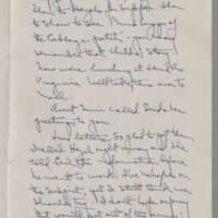 1943-01-09 Laura Davis to Lloyd Davis Page 2