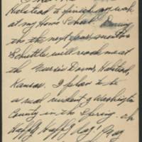 1945-11-01 Helen B. Galloway to Dave Elder Postcard