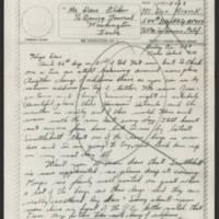 1945-02-23 Pvt. Don Minick to Dave Elder
