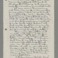1942-09-18 Laura Davis to Lloyd Davis Page 1