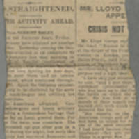 """1918-06-08 Clipping: """"""""To The Trenches"""""""" Page 2"""