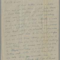 1945-03-16 Chas. L. Doran to Dave Elder Page 1