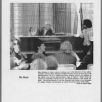 """1971-02-05 Daily Iowan Photo: """"""""Ho Hum"""""""""""