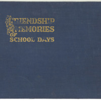 Evelyn Birkby school days memory book, 1933-1936