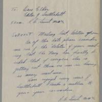 1946-02-12 R.C. Severt to Dave Elder