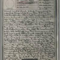 1943-06-27 Laura Davis to Lloyd Davis Page 1