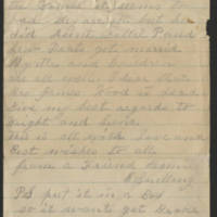 Letter from E. Snelling Page 2