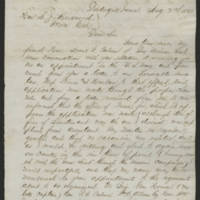 Iowa Governor and Adjutant General correspondence, 1862-1865