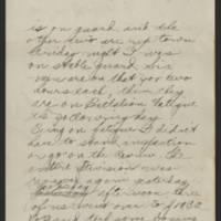 1918-03-09 Thomas Messenger to Mr. & Mrs. N.H. Messenger Page 2