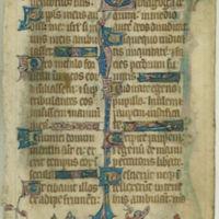 Psalter [leaf]