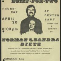 1972-04-20 'Norman & Sandra Dietz'