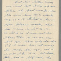 1942-08-20 Lloyd Davis to Laura Davis Page 1