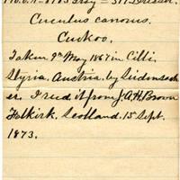 Clinton Mellen Jones, egg card # 817