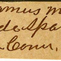 Clinton Mellen Jones, egg card # 469