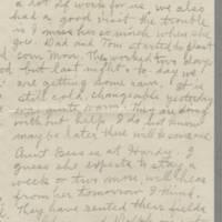 1943-05-12 Laura Hutchison to Laura Frances Davis Page 3