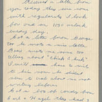 1942-08-21 Lloyd Davis to Laura Davis Page 1