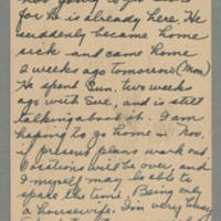 1943-08-22 Cecil to Laura Frances Davis Page 1