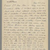 1942-11-25 Lloyd Davis to Laura Davis Page 1