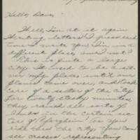 1945-07-20 Pfc. Roger K. Banks to Dave Elder Page 1