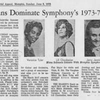 "1973-06-03 Article: """"Russians Dominate Symphony's 1973-74 Season"""""