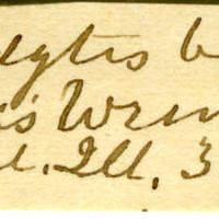 Clinton Mellen Jones, egg card # 698