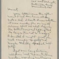 1941-12-19 Laura Davis to Lloyd Davis Page 1