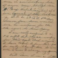 1945-09-10 Pfc. Eddie Prebyl to Dave Elder Page 3